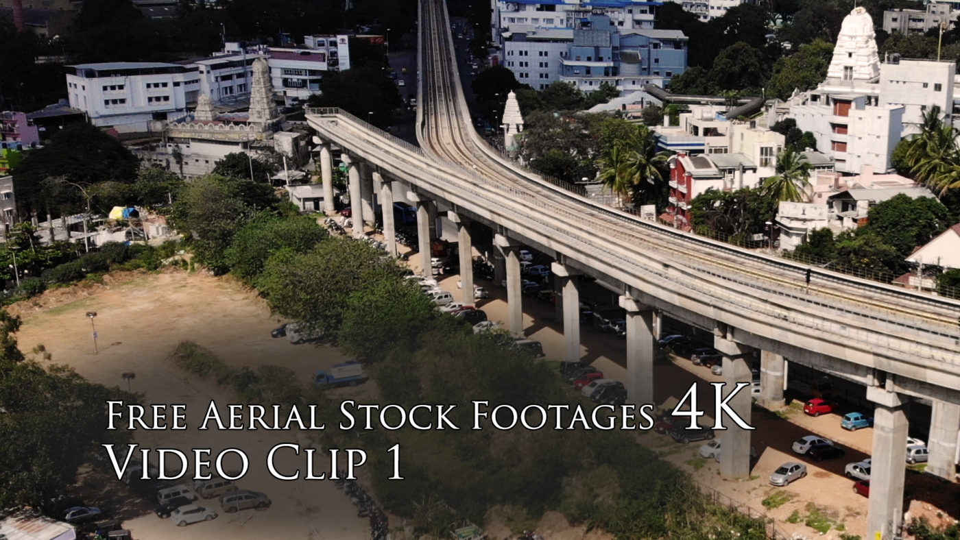 Royalty Free Aerial Stock Footages 4K - Video Clip 1